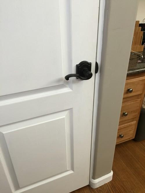 Trim Around Doors With Bullnose