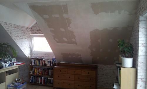Zimmer Mit Dachschräge Dekorieren fototapete für dachschräge