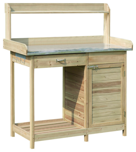 Prime Convenience Concepts Deluxe Potting Bench With Cabinet Ibusinesslaw Wood Chair Design Ideas Ibusinesslaworg