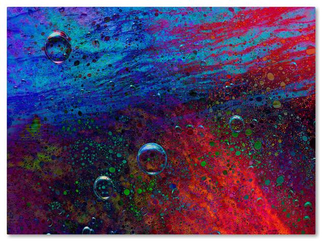 """Musicdreamerart &x27;the Warming Ocean&x27; Canvas Art, 35"""" X 47""""."""