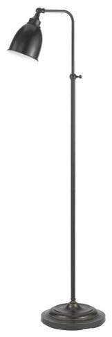 Cal Lighting BO-2032FL Pharmacy 1 Light Pedestal Base Floor Lamp