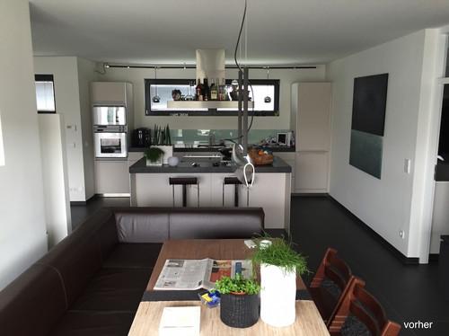Umbau Wohnen/Küche/Essen