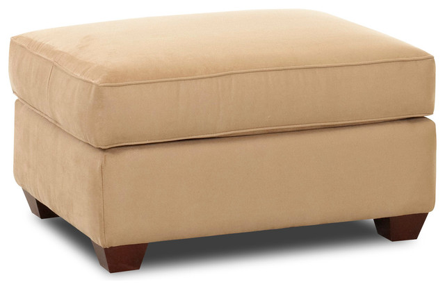 storage ottoman microsuede camel traditional footstools and ottomans