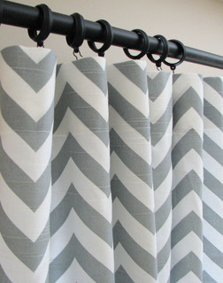 Chevron Curtains Grey And White Best Curtains 2017