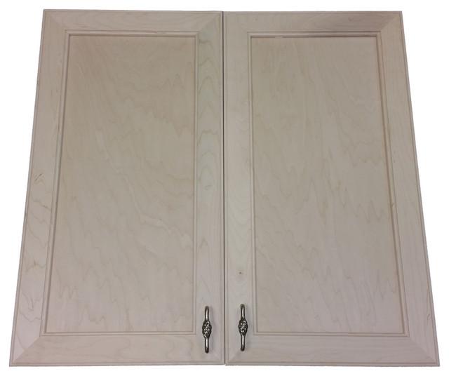 "18"" High Village Bch Recessed, Double Door Frameless Medicine Cabinet, 3.5d."