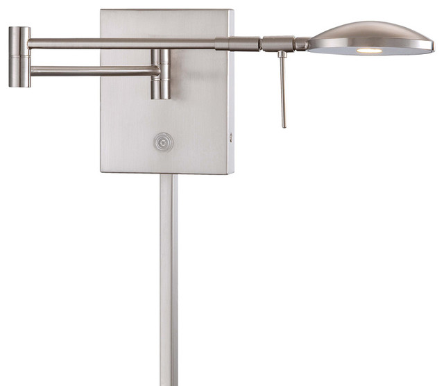 George Kovacs P4338 084 Led Swing Arm Wall Lamp Contemporary Swing Arm