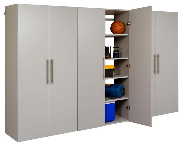 "Hangups 108"" Storage Cabinet Set E, 3-Piece - Storage Cabinets - by HedgeApple"