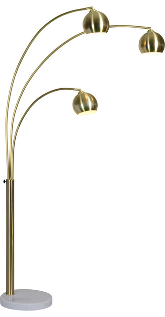 Dorset Three Light Large Floor Lamp