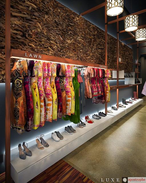 Luxe Outlet Interior Design Contemporary