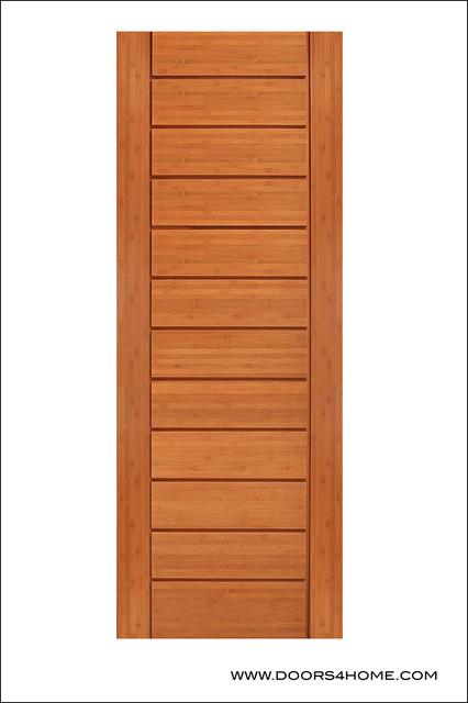Bamboo Interior Door Model BM 2 Contemporary Interior Doors