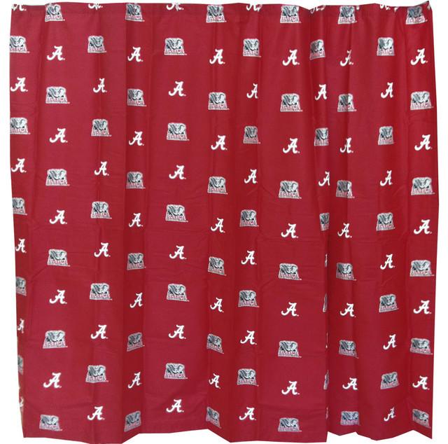 Beau NCAA Alabama Crimson Tide Shower Curtain Bathroom Decoration   Shower  Curtains   By Store51 LLC
