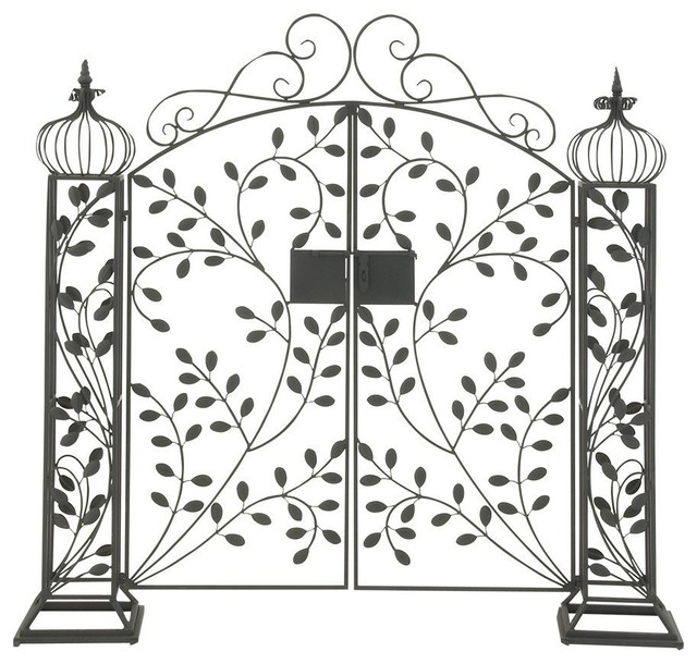 Good Metal Garden Gate Contemporary Home Fencing And Gates
