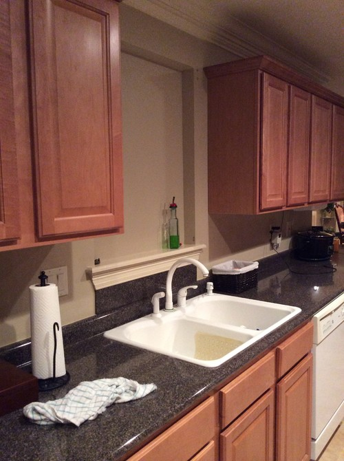 Lovely Fake Window Above Kitchen Sink - Trendyexaminer PL06