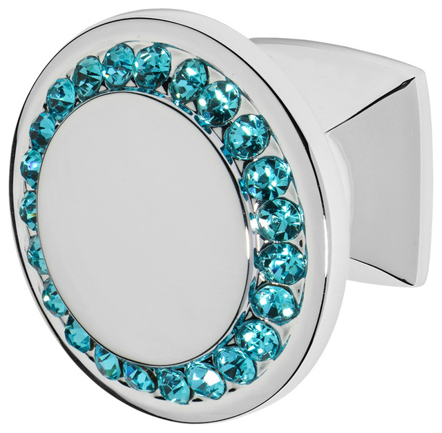 Cabinet/Drawer Knobs With Crystal by Wisdom Stone Isabel ...