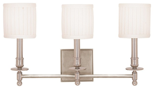 Transitional Bathroom Wall Sconces : Palmer 3-Light Wall Sconce, Old Bronze - Transitional - Bathroom Vanity Lighting - by Lighting ...