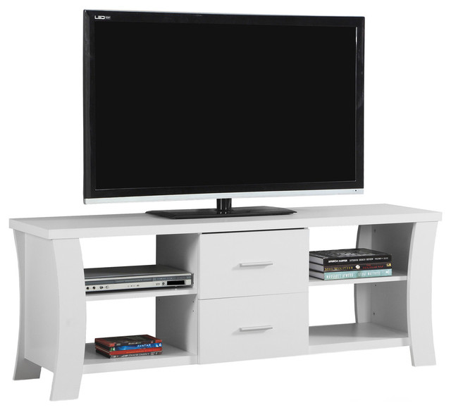 Monarch Specialties 2683 Tv Stand Contemporary Entertainment