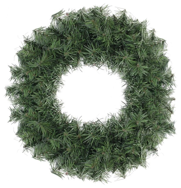 """18"""" Canadian Pine Artificial Christmas Wreath."""