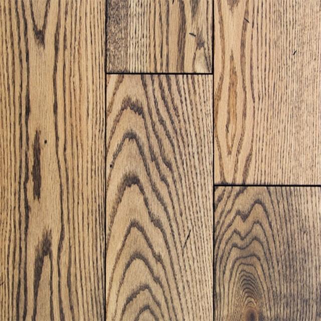 """4"""" Red Oak Prestige Solid Hardwood Flooring, Riesling."""