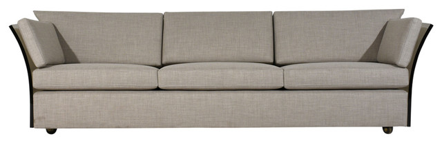 Consigned Mid-Century Modern-Style Sofa by Milo Baughman
