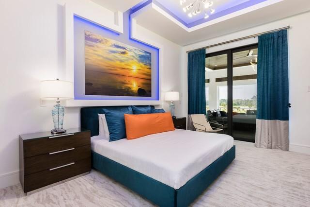 Trendy home design photo in Orlando