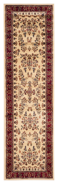 Safavieh Cherwell Woven Rug, Ivory And Red, 2&x27;3x12&x27;.