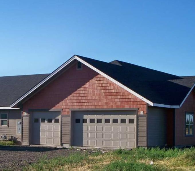 Built homes