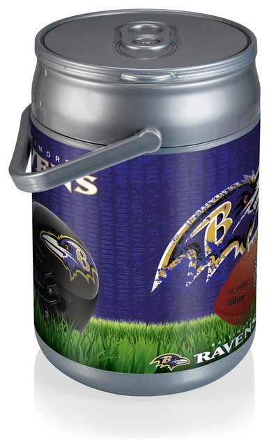 Picnic Time Baltimore Ravens Can Cooler Football Design
