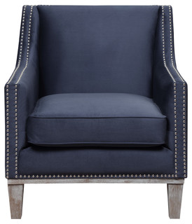 Holland Accent Chair, Teal