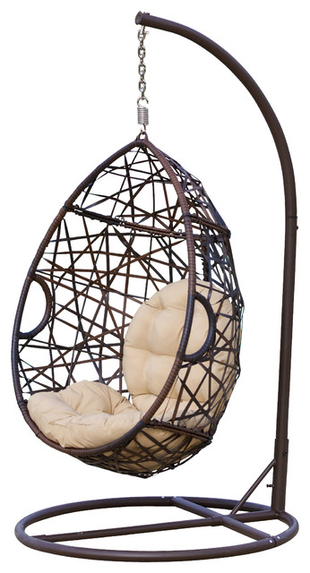 Berkley Outdoor Lounge Egg Chair Contemporary Hammocks And Swing Chairs