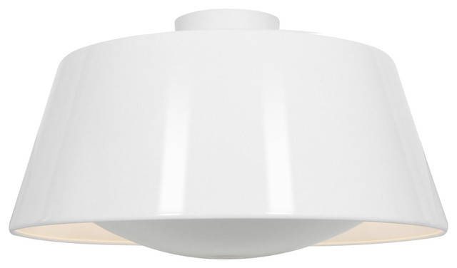 Soho, 23764, Ceiling, Gloss White Finish.