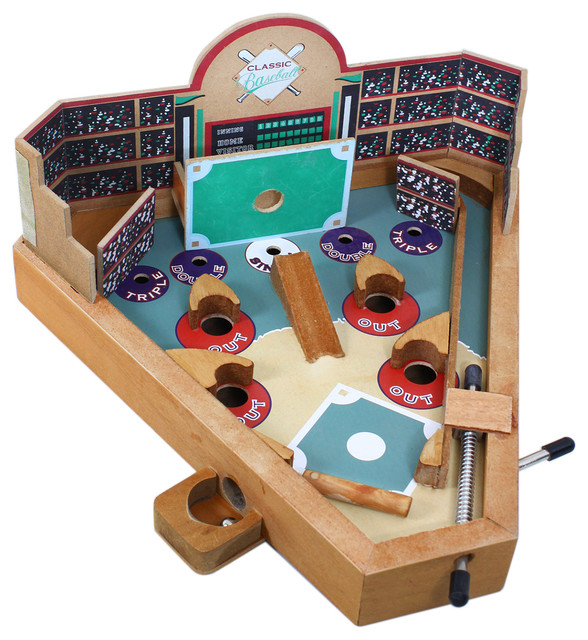 Classic Toys And Games : Classic baseball game contemporary kids toys and games