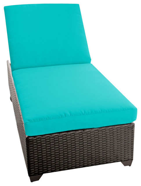 Classic chaise outdoor wicker patio furniture tropical for Chaise and lounge aliso viejo