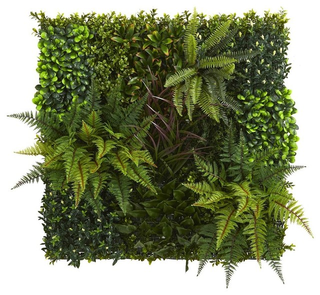 "29"" x 29"" Artificial Living Wall UV Resistant"