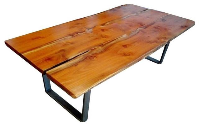 California Redwood Slab Table   $3,400 Est. Retail   $2,700 On Chair
