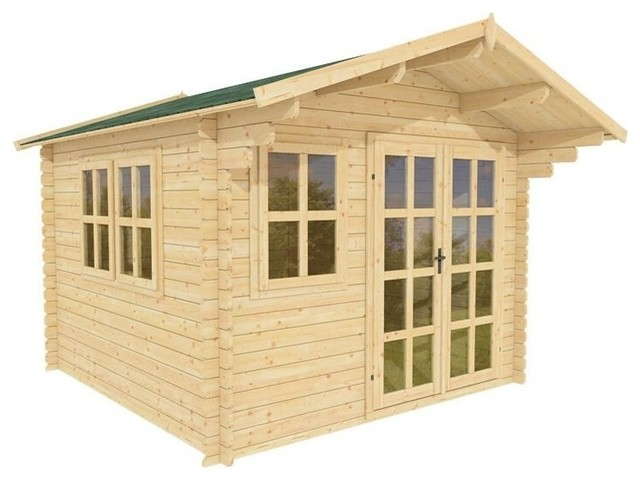 Wooden Garden Shed Kit Whales by Solid Build, 10'x10'