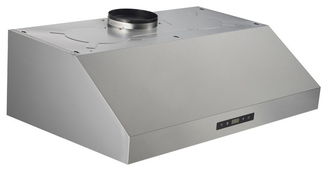 """30"""" Under-Cabinet Range Hood in Stainless Steel with Baffle Filter"""