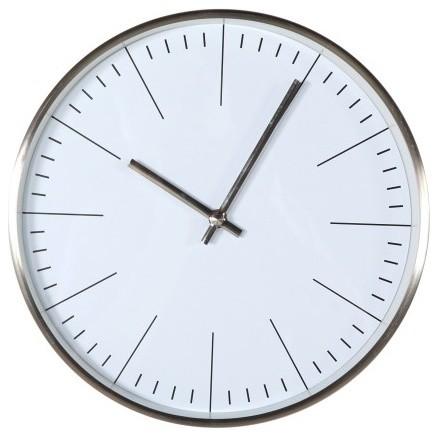Stilnovo Verichron Simple Clock Silver View In Your