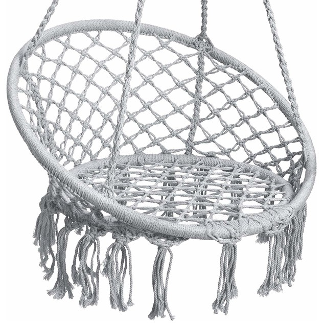 Hanging Hammock Chair Macrame Swing Lounge Beach Style Hammocks And Chairs By Braw Deals