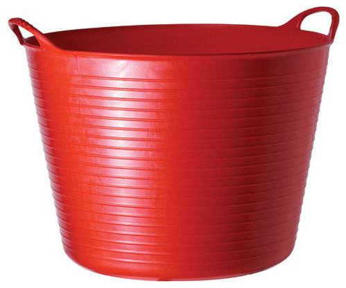 Superb Tubtrugs, Flexible Tub Large Red Contemporary Storage Bins And Boxes