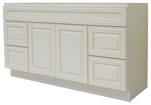 NGY Bathroom Vanity Cabinet, Antique White, 48''x21 ...