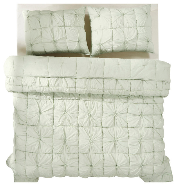 91a095670ff8 Camille Mint Quilt Set - Contemporary - Quilts And Quilt Sets - by VHC  Brands