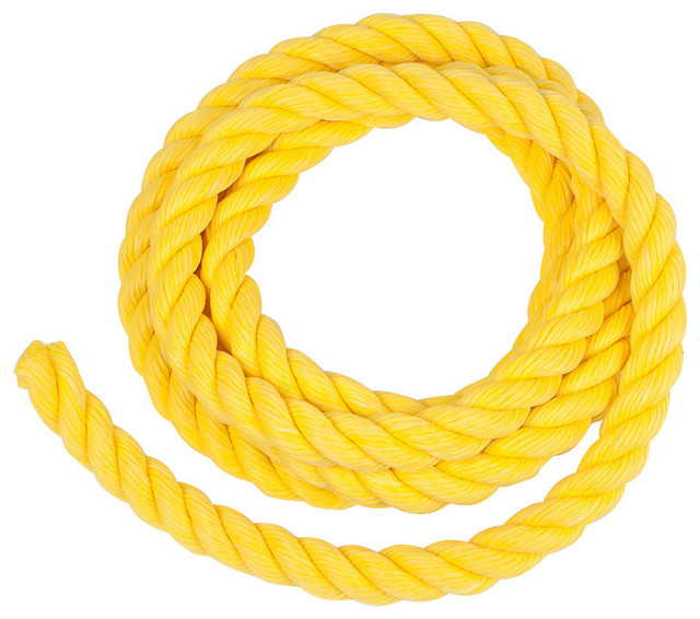 Polypropylene Rope Yellow 10 Traditional Kids