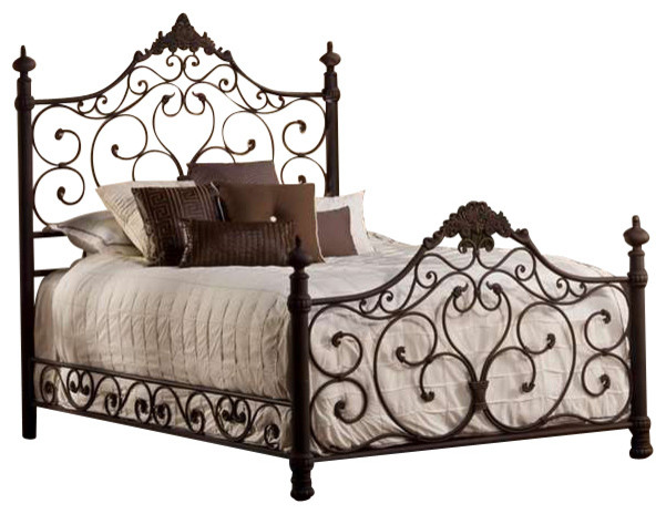 Baremore Bed Set, King, With Rails.