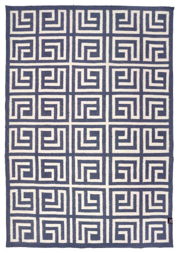 Classic Collection Labyrinth Area Rug, Stormy Weather, 300x200 cm