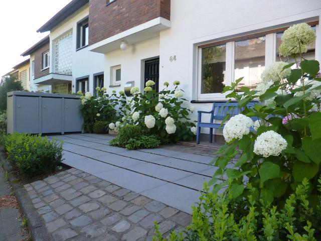 moderner vorgarten minimalistisch k ln von besgen