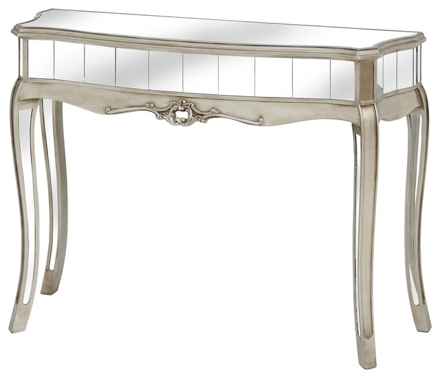 Argente Mirrored Console Table