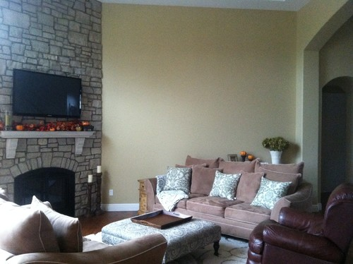 Need Help With Large Bare Wall In Family Room