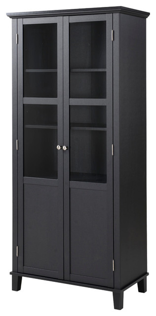 Savannah 2-Door Storage Cabinet - Contemporary - China Cabinets And Hutches - by HOMESTAR NORTH ...