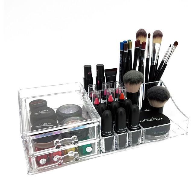 Bea Deluxe Acrylic Cosmetic/jewelry Organization Tray.