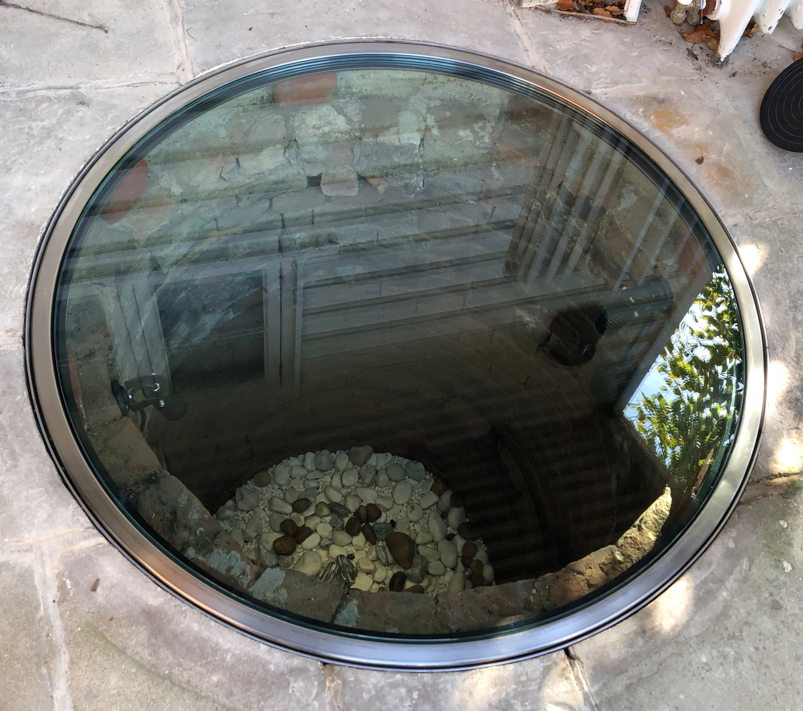 Glass Well Cover